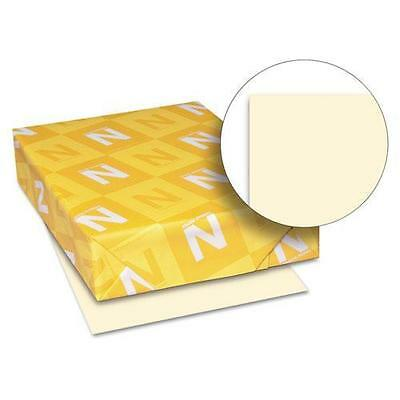 Wausau 49181 Exact Index Card Stock, 90 lbs., 8-1/2 x 11, Ivory, 250 Sheets/Pack
