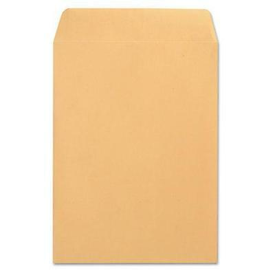 Universal 41165 Catalog Envelope, Side Seam, 9 x 12, Light Brown, 250/Box
