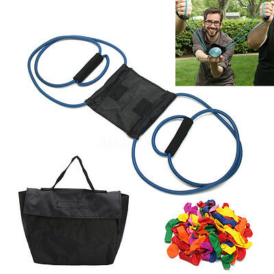 Water Balloon Launcher With Carry Case and Balloons Extreme Launcher XMAS GAME