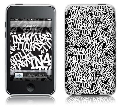 MusicSkins - Sticker de protection pour iPod touch 2G et 3G [MS-IN4M10004] NEUF
