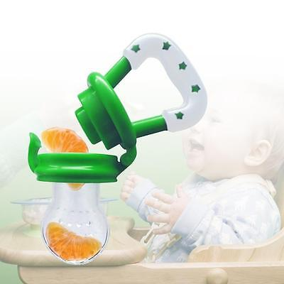 Newborn Fruit Vegetable Dummy Feeder Pacifier Soother Nipple Teether for Baby