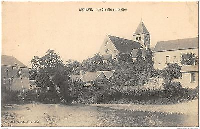 70-Reneve-Le Moulin Et L Eglise-N°R2046-G/0133