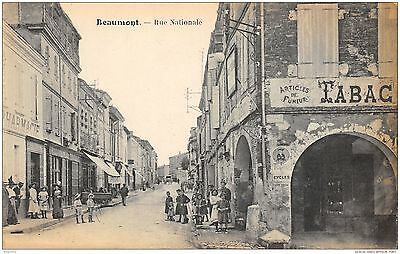 82-Beaumont-Rue Nationale-N°R2047-D/0073