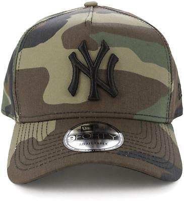 New Men's New Era New Era Ny Yankees 940 A-frame Camo Headwear Snapback Cap Hat