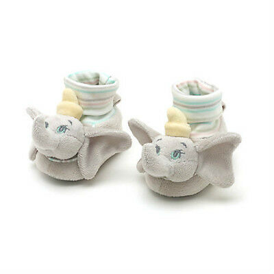 Disney Store Official Dumbo Baby Slippers