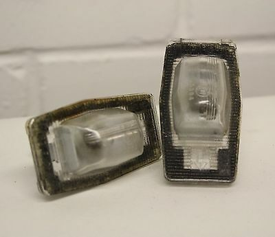 Mazda MX5 - Mk2 (NB) 98-05 - NUMBER PLATE LIGHTS - boot registration - mk2.5