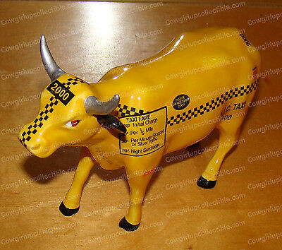 New York City (NYC) Taxi, 2000 (CowParade by Westland, 9160)