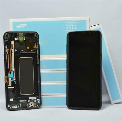 ORIGINAL Samsung Galaxy S8 Plus SM-G955F TOUCH SCREEN DISPLAY LCD Schwarz NEU