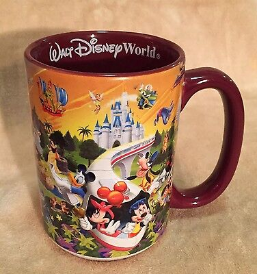 Walt Disney World Coffee Cup 3D Mickey And The Gang