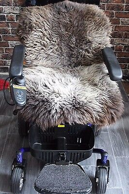 Genuine Sheepskin  ELECTRIC Wheelchair    SCOOTER   Cover Pad