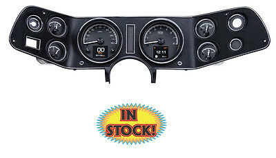 Dakota Digital 1970-81 Chevy Camaro HDX Gauge Kit, Black Face - HDX-70C-CAM-K