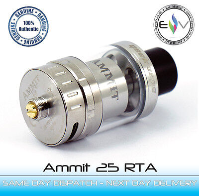 Ammit 25 RTA by Geekvape - Perfect for huge single clapton - 100% Authentic BNIB