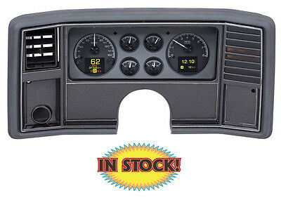 Dakota Digital 1978-88 Chevy Monte Carlo HDX Gauge Kit, Black Face HDX-78C-MC-K