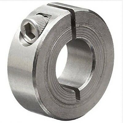 "*Bag of 5 NEW* Climax Metal 1C-050-S 1/2"" ID Split Stainless Shaft Collar"