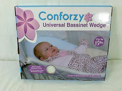 Conforzy Universal Bassinet Wedge Baby Pillow NIB