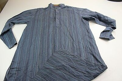 "Arshad's Kurta Mahal Karachi Indian Outfit Shirt Medium M 46"" Length"