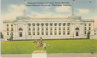 Municipal Bldg., Court House,Wilmington, Delaware 1940's**