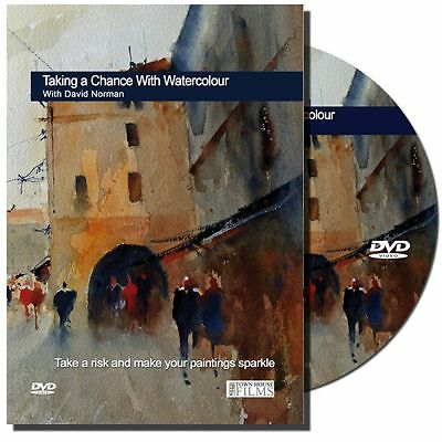 DVD - Taking a Chance with Watercolour with David Norman