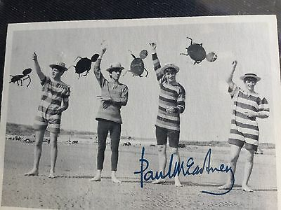 Beatles Photo Trading Cards - Vintage Lot Of 6 George John Paul Ringo