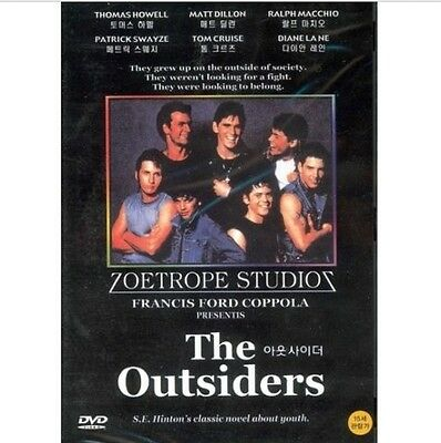 The Outsiders (1983) DVD (New,Sealed) - Patrick Swayze