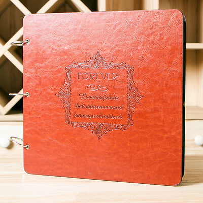 Lovely Leather DIY Photo Album with - FREE DIY Gift Pack-3 Designs are Available