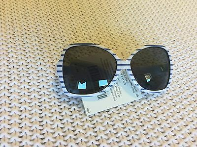 Janie and Jack Watercolor Poppy Striped Periwinkle Sunglasses 0-2 Years NWT! $14