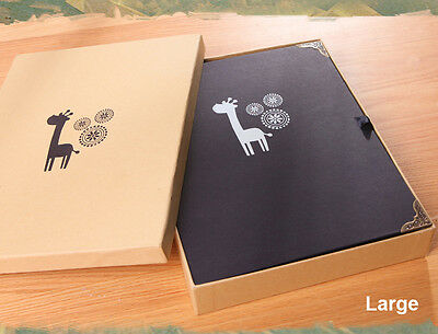 Lovely DIY Photo Album with-FREE DIY Gift Pack- 3 sizes- 7 Designs are Available