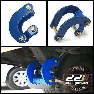 Rear Blue Comfortable G Shackle Suit Nissan Navara D40 Frontier Brute 05up