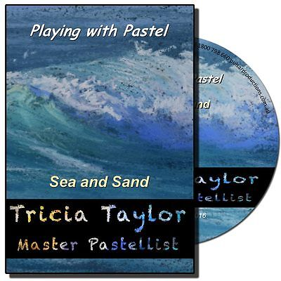 DVD - Playing with Pastel: Sea and Sand with Tricia Taylor