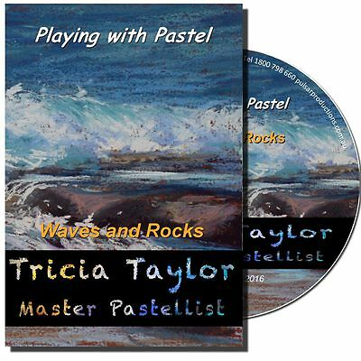 DVD - Playing with Pastels: Waves and Rocks with Tricia Taylor