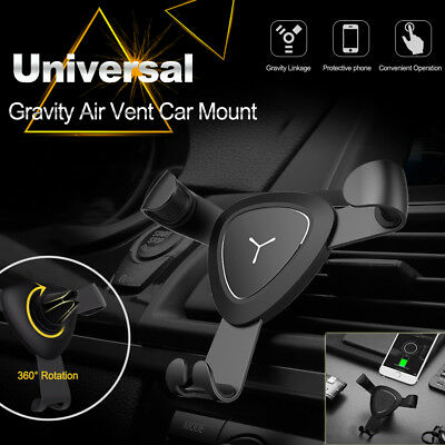 Universal Car Air Vent Mount Phone Holder For iPhone 8 6 7 Plus GPS Samsung S8