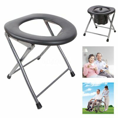 Portable Folding Toilet Travel Camping Festival Park Fishing Outdoor Accessories