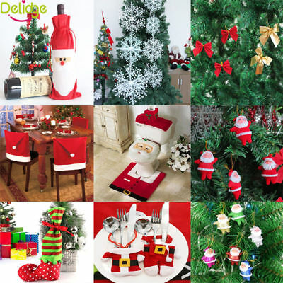 Christmas Santa Claus Ornaments Festival Party Xmas Tree Hanging Decorating Tool