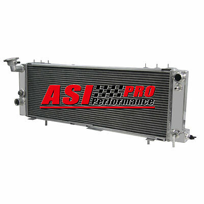 3 Row Radiator For 1994-01 95 Jeep Cherokee Xj 4.0L Trans Cooler Driver Side Pro