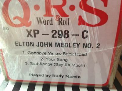 ELTON JOHN NO. 2  Goodbye Yellow B++    NEW LONG  PLAY PIANOLA PLAYER PIANO ROLL