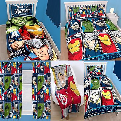 "MARVEL AVENGERS 'TECH"" DESIGN KIDS BOYS BEDROOMS ACCESSORIES - Choose 1 or More"