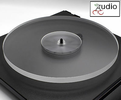 Clear Acrylic Turntable Platter. Fits REGA