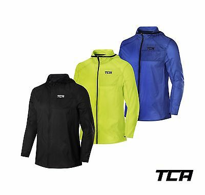 TCA Men's Airlite Packable Spray Proof Outdoor Fitness Running Jacket