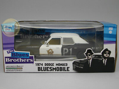 "Dodge Monaco (1974) Bluesmobile Blues Brothers ""Hollywood Series"" - Greenlight -"