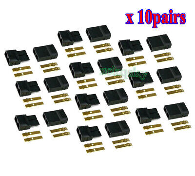10 Pairs RC TRAXXAS TRX Plug Connector For Lipo/NiMh Battery Brushless ESC Motor