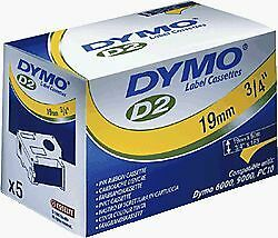 DYMO - D2 Rubans support 32 mm x 10 m - - [ ] [S0721280] [Jaune] NEUF