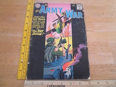 Our Army at War 134 Silver Age comic book G/VG Sgt. Rock
