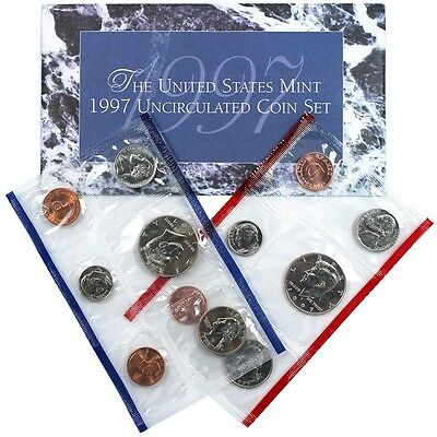 1997 U.s. Mint Set  Gem Bu In Original U.s. Mint Packaging