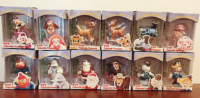 Rudolph and The Island of Misfit Toys Collectible 1999 Ornaments Complete Set 12