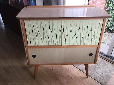 Vintage cocktail bar/ sideboard