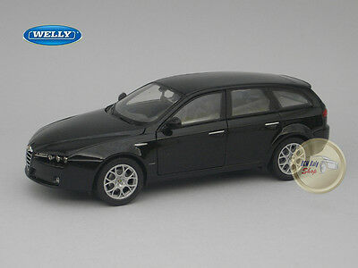 Alfa Romeo 159 Sportwagon Black - Welly - 1:24 - WE22482BK
