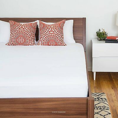 Deep Pocket Mattress Protector Queen Size Bed Bug Dust Mite Cover Pad Waterproof
