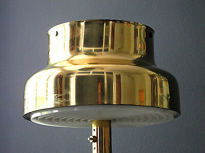 "60s XXL Bumling brass table lamp 71cm / 27.9"" high 
