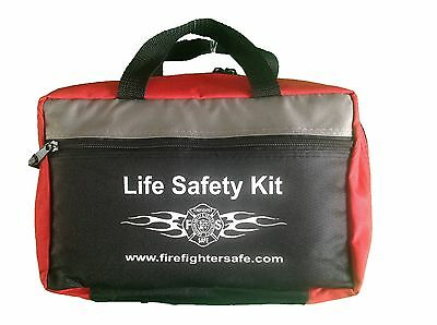 Life Safety Kit - Firefighter Safe First Aid Kit Work, Home, Camping, Car