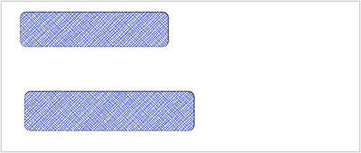 500 Double Window Envelope | Item #CE15